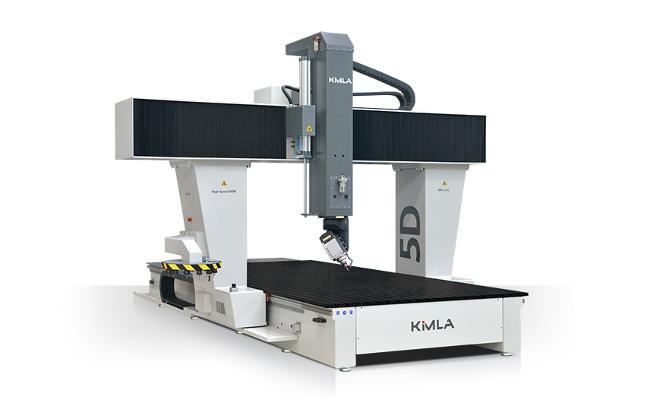 W Mega Frezarki CNC 5-osi - profesjonalne obrabiarki CNC - Kimla EZ52