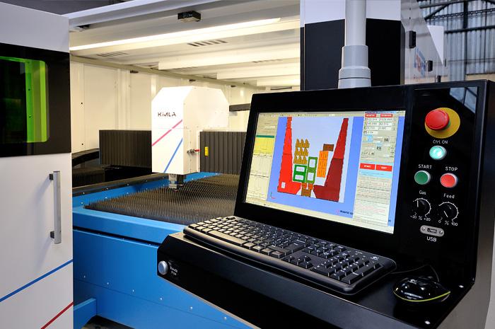 Tylko na zewnątrz Wycinarki laserowe fiber - profesjonalne obrabiarki CNC - Kimla XZ91
