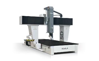 Five axis CNC milling machines